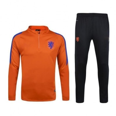 survetement equipe de Pays Bas Tenue de match