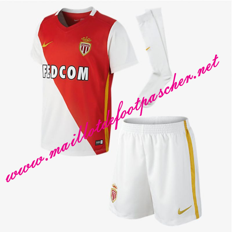 ensemble de foot AS Monaco Enfant